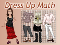Dress Up Math Instructions