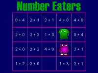 Number Eaters Instructions